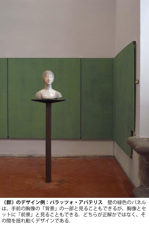 《群》のデザイン例:パラッツォ・アバテリス